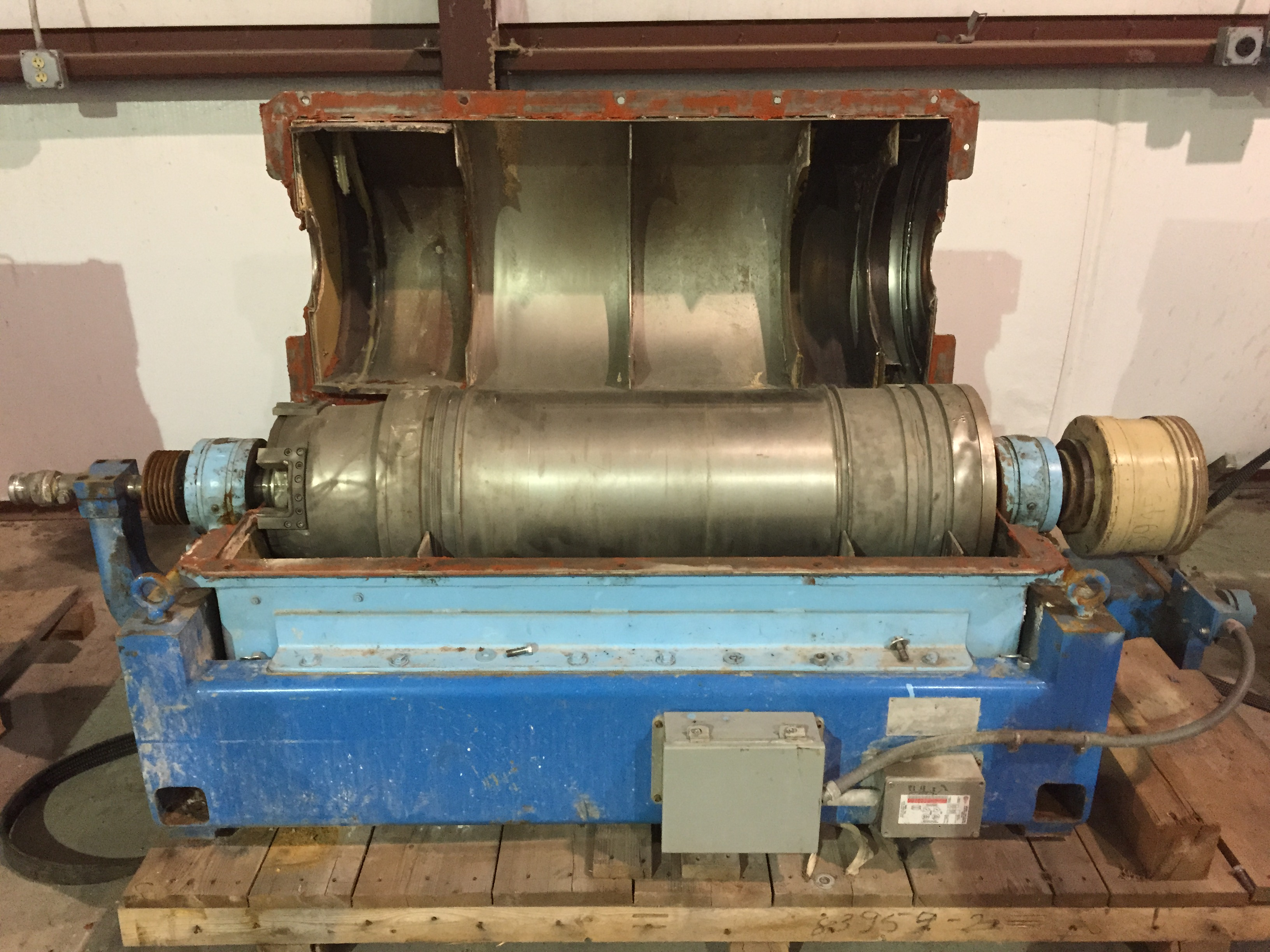 Hutchison Hayes 1448 Oilfield Decanter Centrifuge