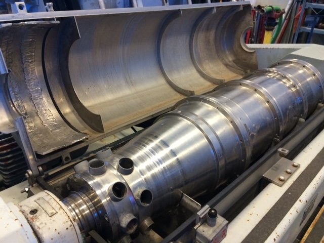 Alfa Laval NX-418 Decanter Centrifuges for drilling mud solids control