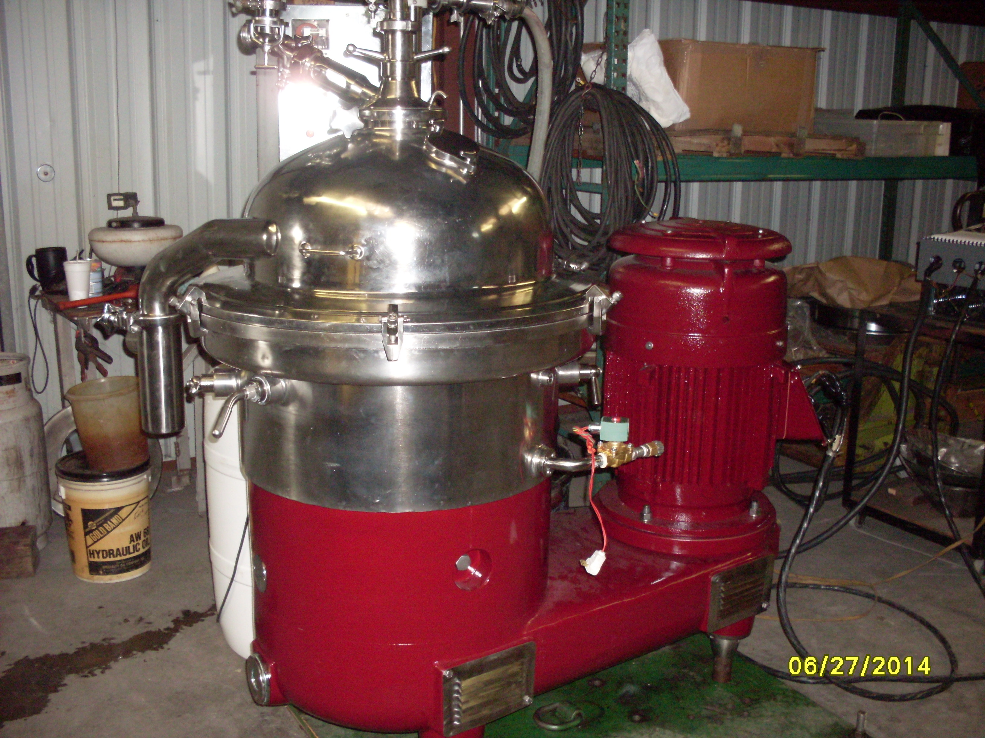 Reconditioned Westfalia SA-40-03-177 Disk Stack Centrifuge – Separator