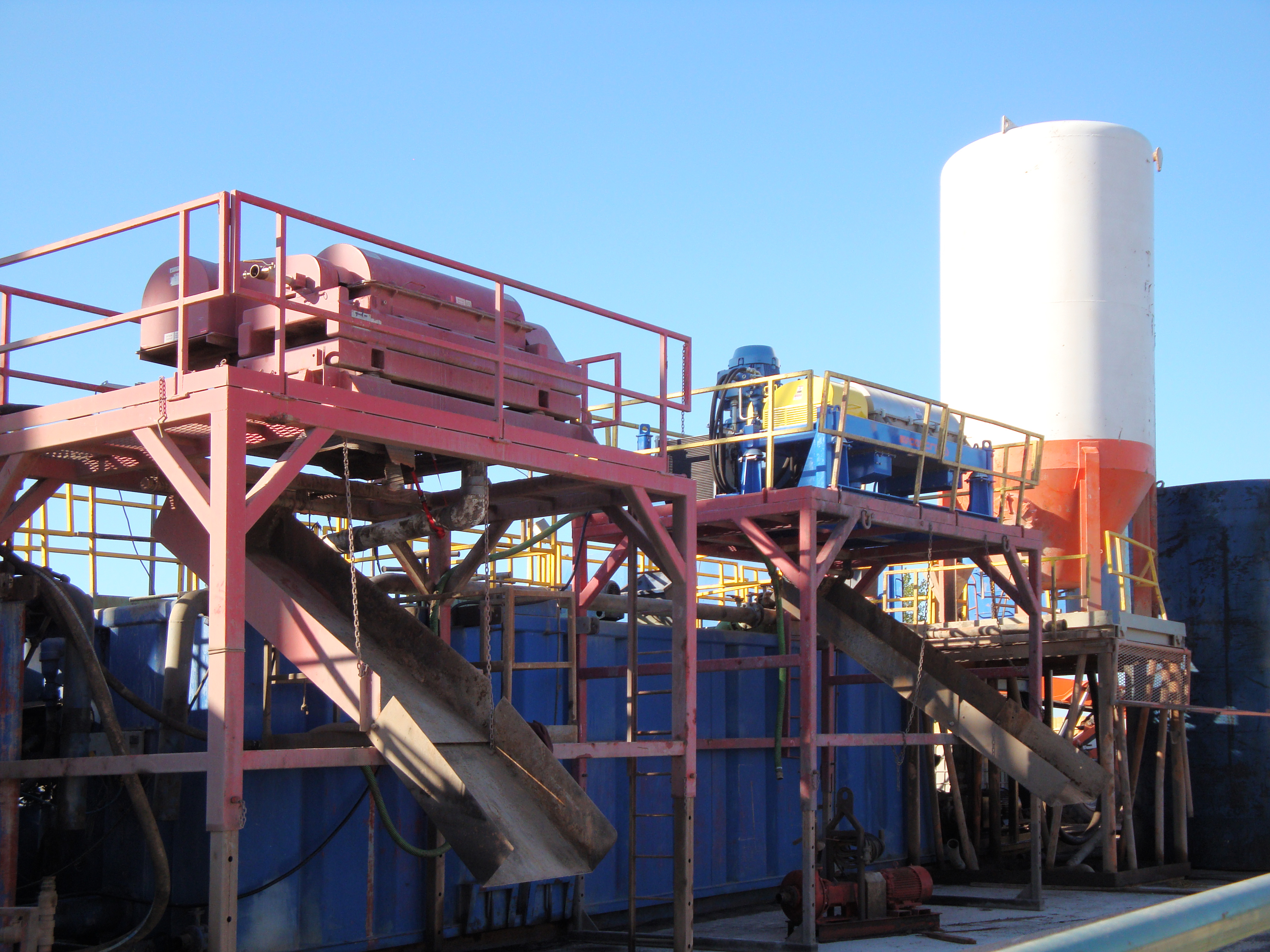 Centrifuge capacity in oilfield drilling mud applications