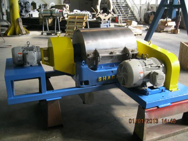 Sharples P-2000 Decanter Centrifuge
