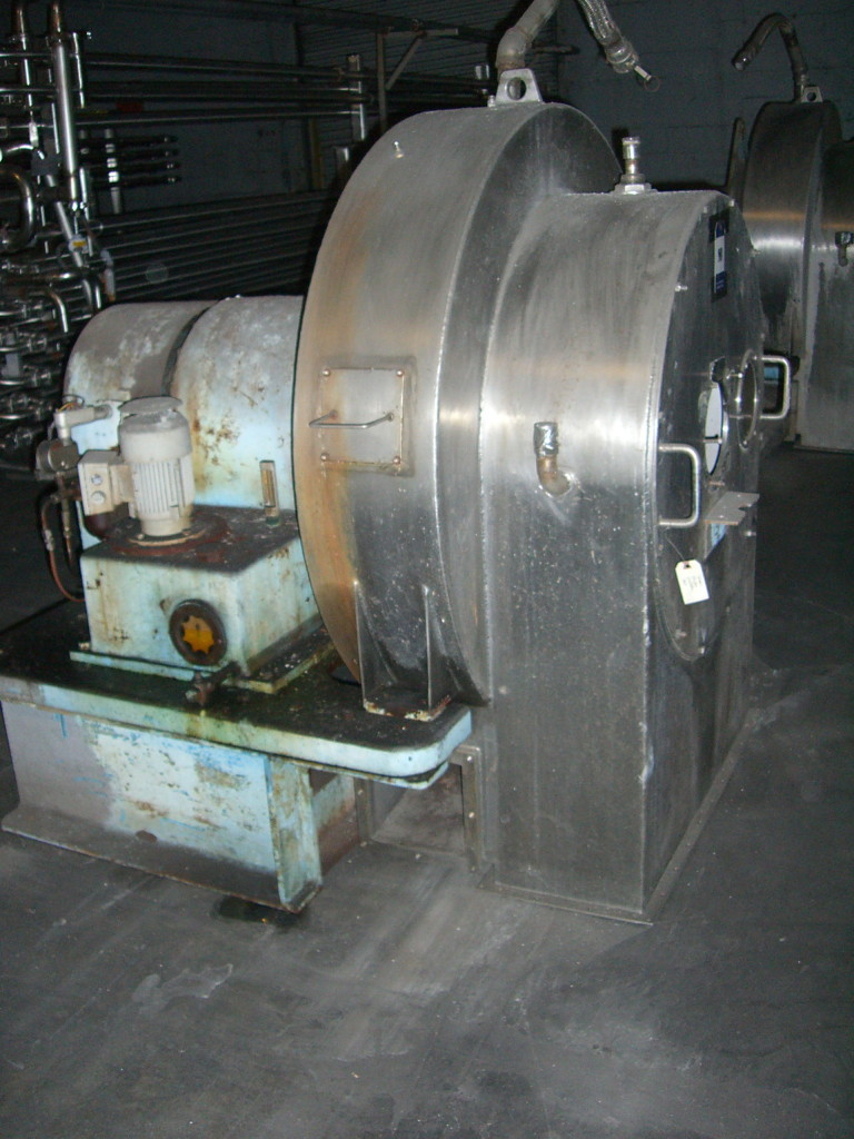 Tema-Siebtechnik H-520 Screen-Scroll Centrifuge