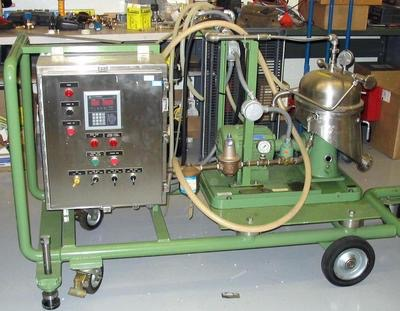 GEA Westfalia SA1 self-cleaning disk stack centrifuge