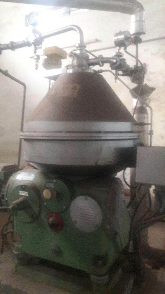 GEA Westfalia RSE 60 disk stack centrifuge