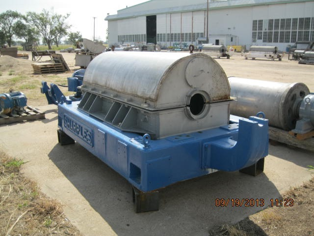 Base for Sharples P-5000 decanter centrifuge