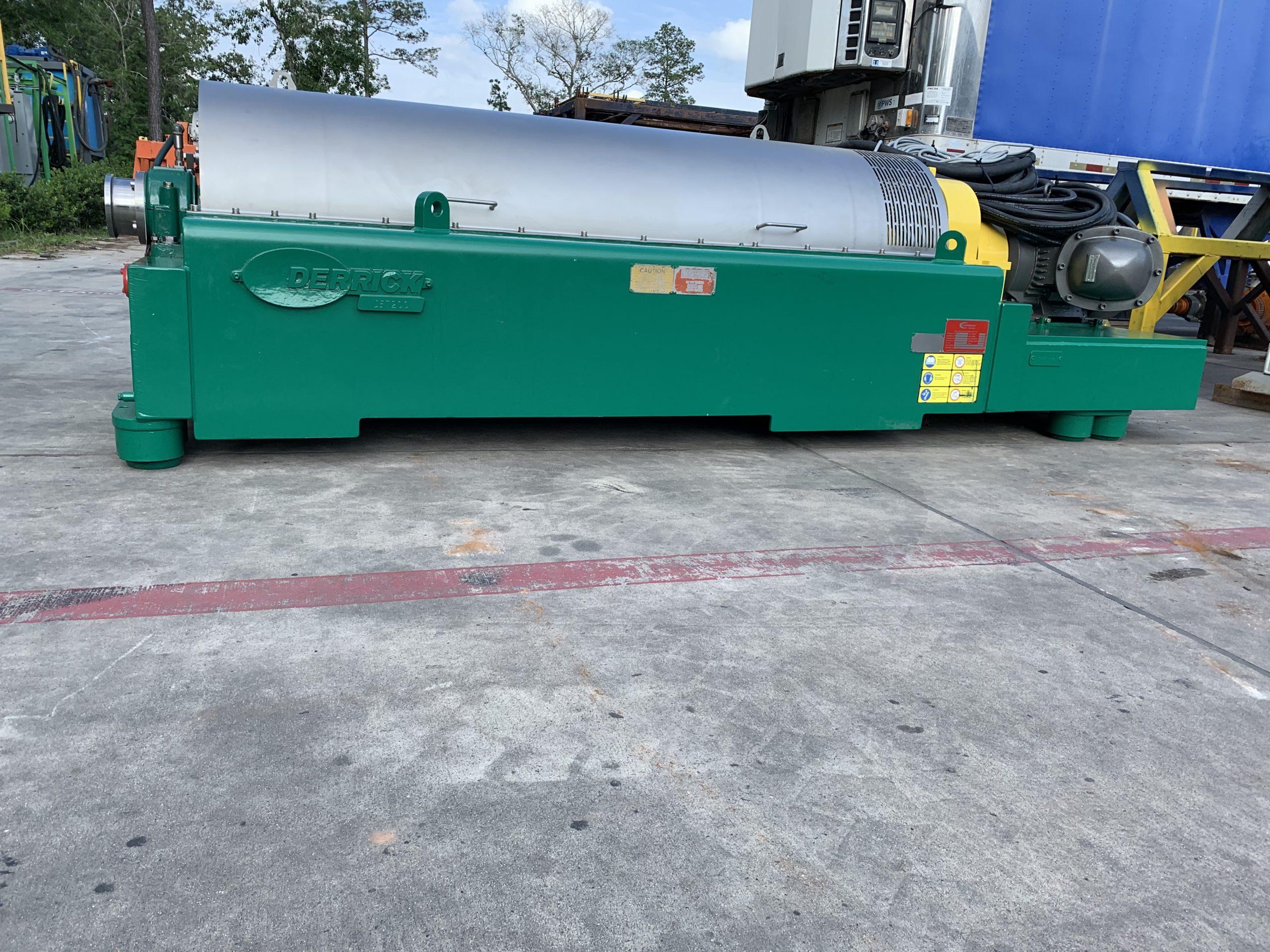 REMANUFACTURED Derrick DE-7200 Decanter Centrifuge