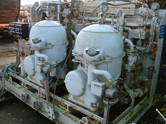 Alfa Laval and Westfalia Disk Stack Centrifuges